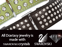 Swarovski Strass Extreme Collars & Leads