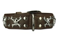 Artleather Big Skull 'n Bones Brown