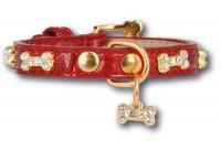 Artleather Glitterbones Red/Gold