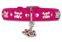 Artleather Skull 'n Bones Hot Pink