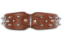 Savage Spikes Brown/Silver 45 mm