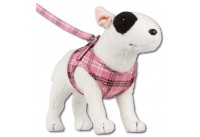 Comfy Harness Scottish Pink