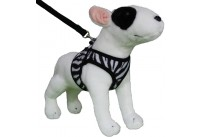 Comfy Harness Zebra Black/White