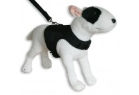 Dog Harness Jacket Mesh Black