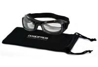 Sunglasses Dogoptics Biker Black frame/Clear lens