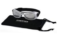 Sunglasses Dogoptics Biker Silver frame/Mirror lens
