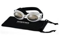Sunglasses Dogoptics Ibiza Silver frame/Mirror lens