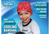 Aqua Coolkeeper Cooling Bandana Kids