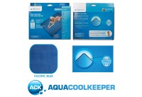 Aqua Coolkeeper Cooling Pet Pad/Blanket Pacific Blue