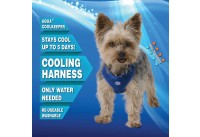 Aqua Coolkeeper Cooling RoundLoop Harness Pacific Blue